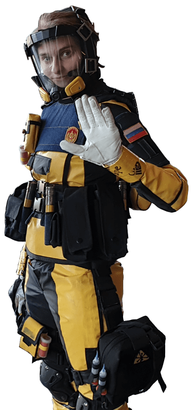 Finka cosplay from Six Siege by Camcamzoro