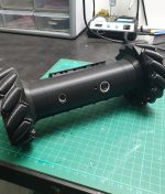 Recon Drone cosplay prop from Six Siege on green cutting mat