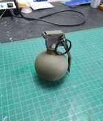 Frag grenade from Rainbow Six Siege